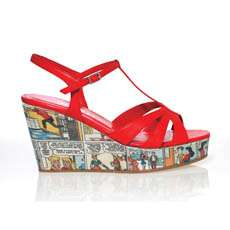 High Fashion Heels With Cartoons