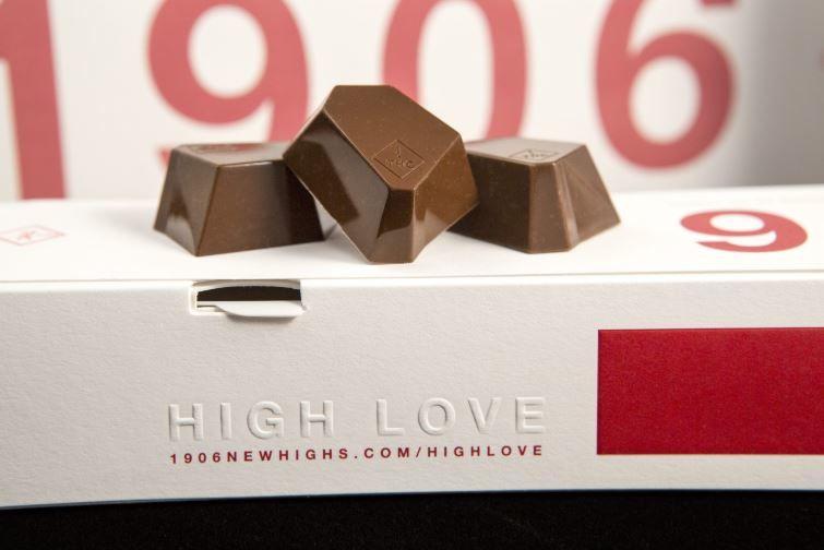 Aphrodisiacal Cannabis Chocolates