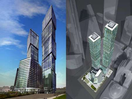 Luxury High Rises in Russia