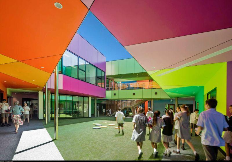 Geometric Rainbow Architecure