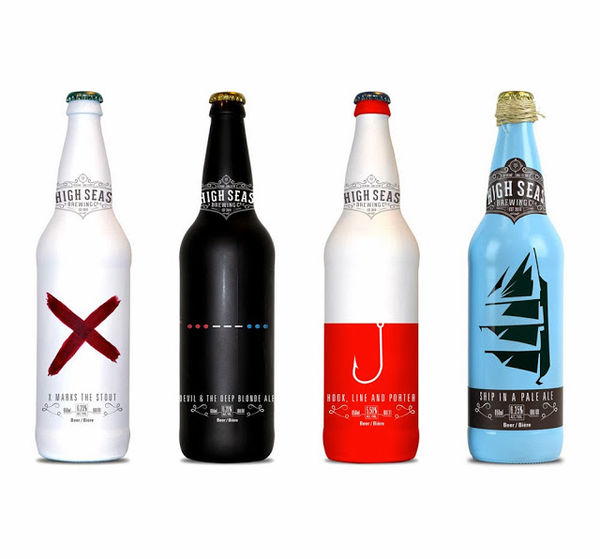 Nautical Booze Branding