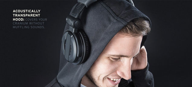 Speaker Material Sweatshirts