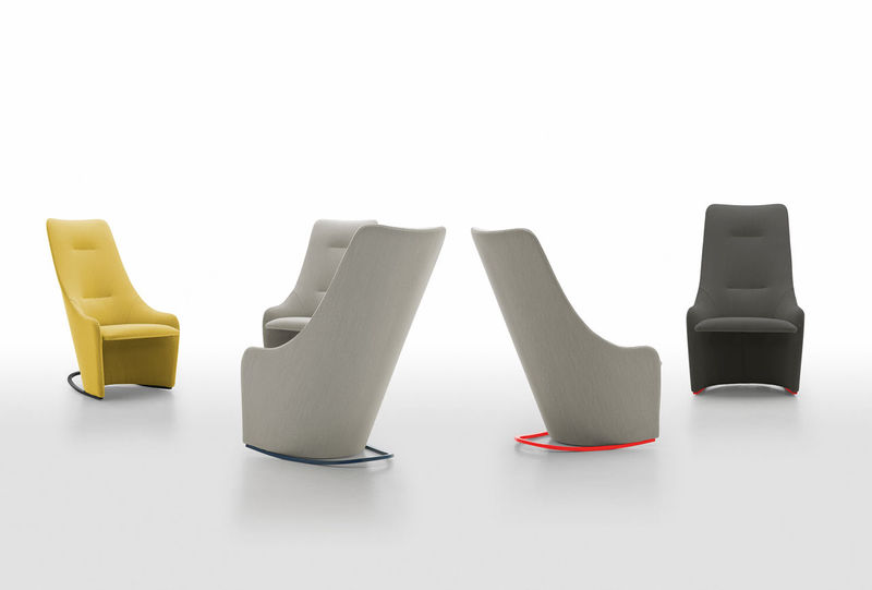 Minimalist High-Backed Chairs