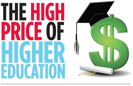 higher education infographics