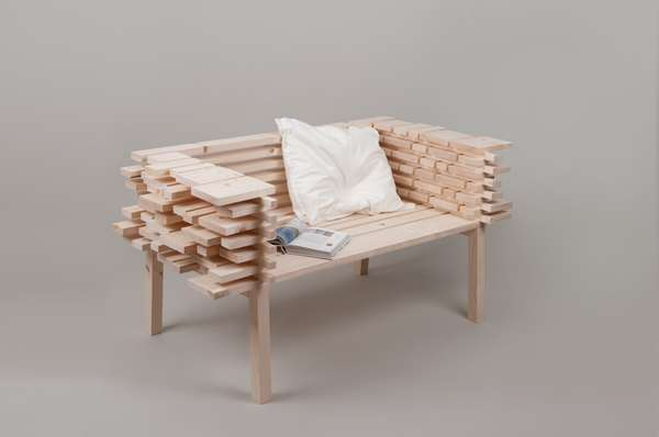 Raw Plank Seating