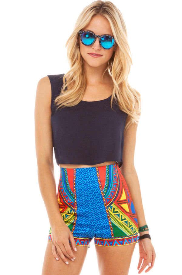 Tropical Hot-Pant Accessories