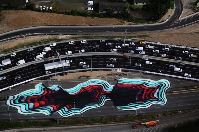 Highway Art Installations