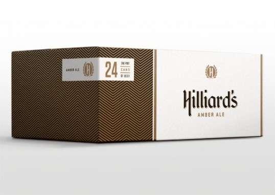 Hip Herringbone Booze Branding