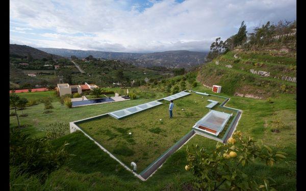 Dugout Hillside Houses