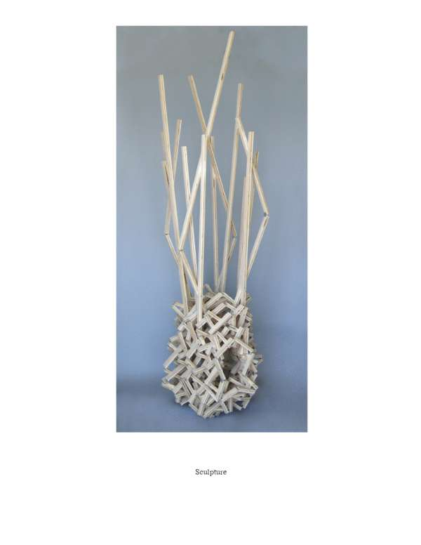 Spindly Sustainable Sculptures