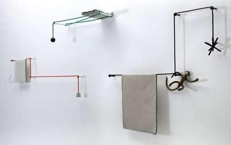 Shifting Suspension Shelves