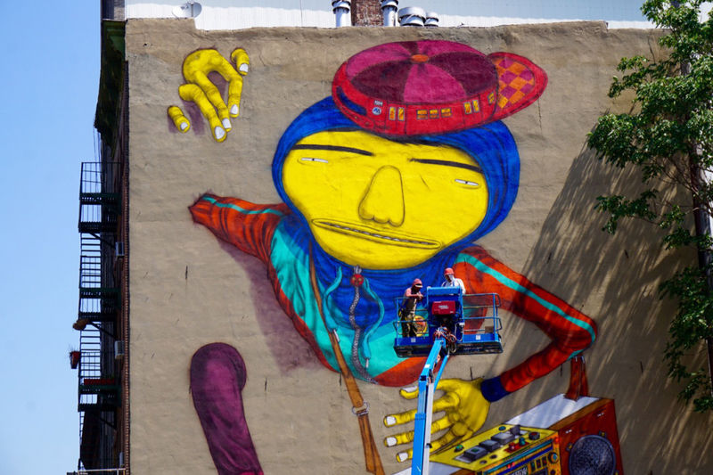 Hip Hop-Inspired Murals