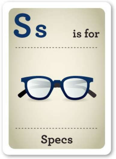 Hipster Flash Cards