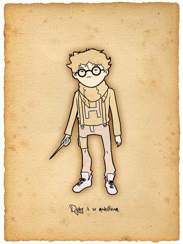 Pretentious Hogwarts Portraits