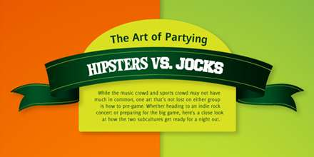 Party Stereotype Infographics