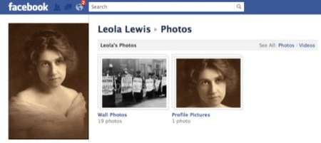 Historical Facebook Profiles