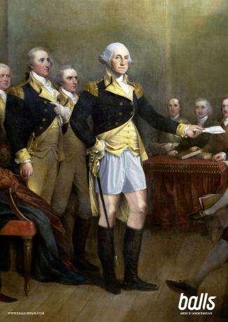 Historical Figures in Underwear