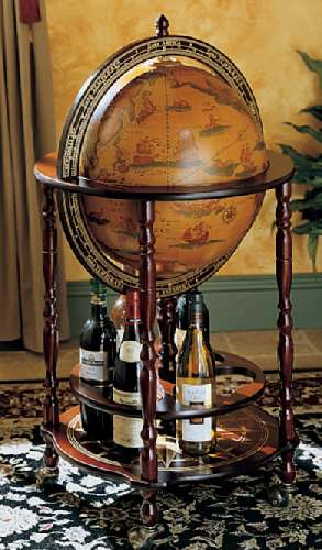 Globes as Bars