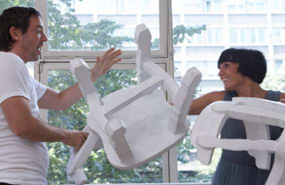 Furniture Pillow Fights