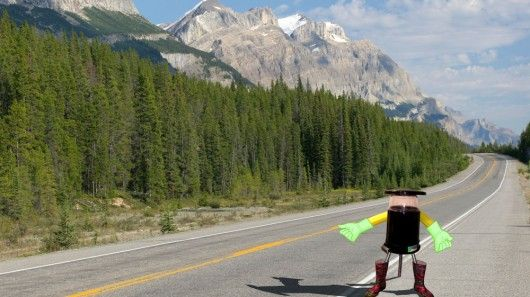 Hitchhiking Robots
