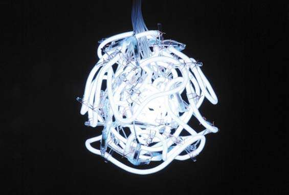 Fluorescent Light Sculptures