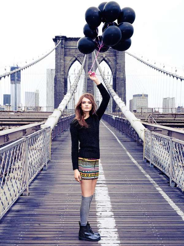 Brooklyn Bridge Fashion Ads