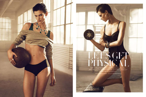 H&M Magazine 'Let's Get Physical'