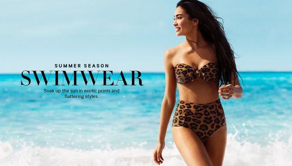 Eclectic Bikini Fashion Ads