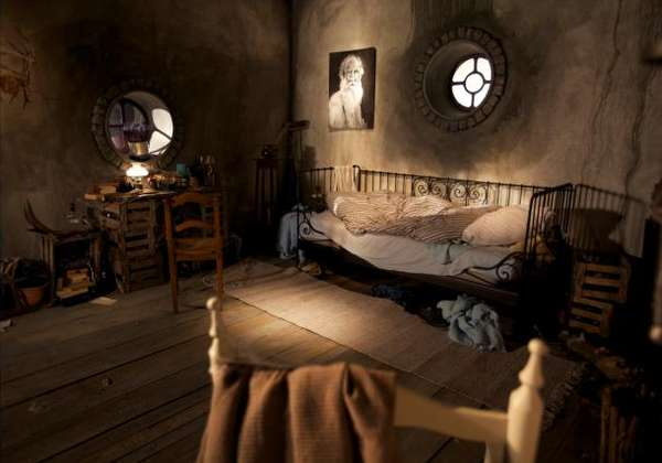Hobbit Hole Bedroom