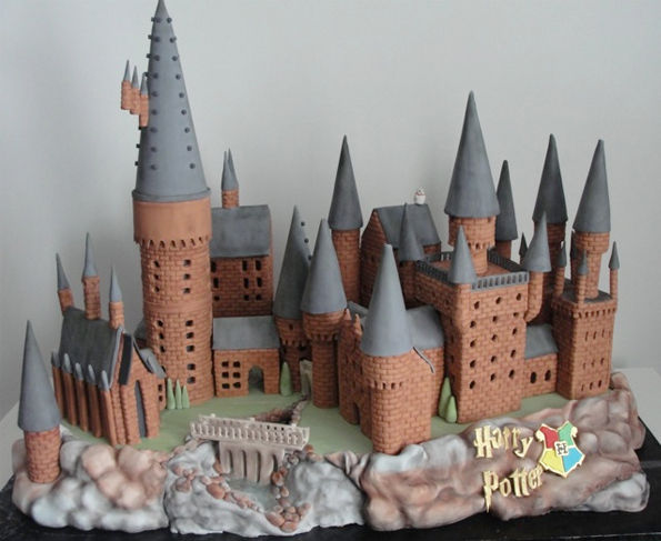 Wizardly Gingerbread Castles