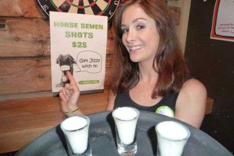 Sperm-Infused Shots