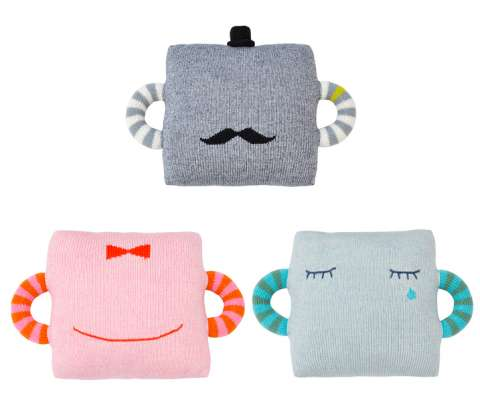 Quirky Characterized Head Cushions