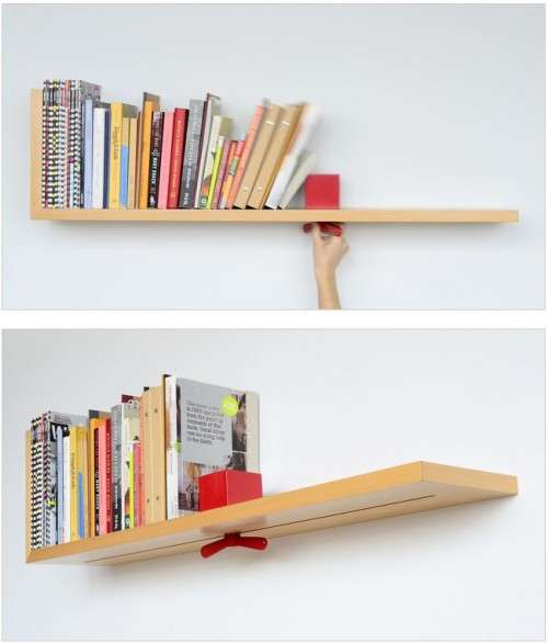 Astounding Adjustable Bookshelves
