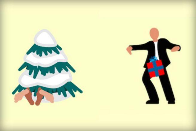 Naughty Holiday Emoticons