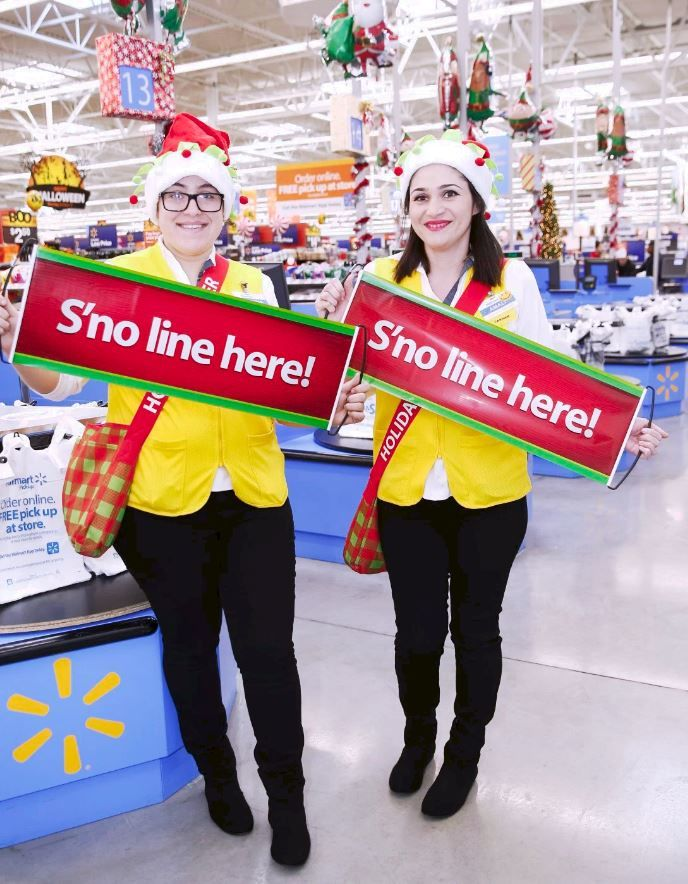 Department Store Holiday Helpers