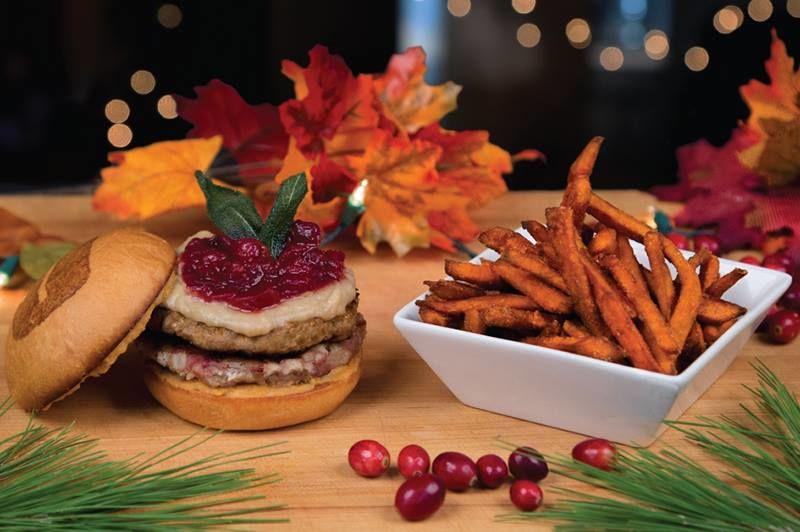 Holiday Turkey Burgers