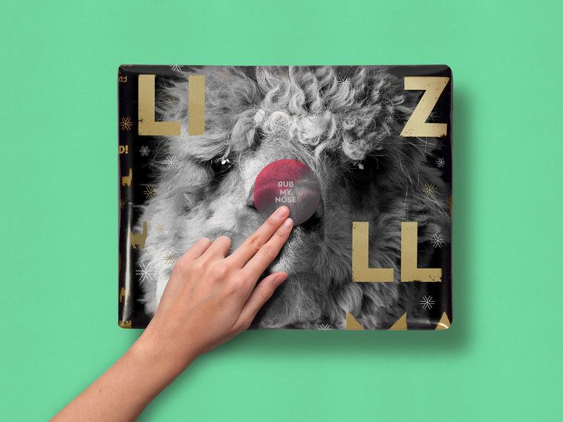 Interactive Gift Wrap