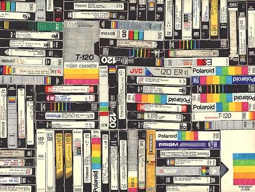 VHS Retro Illustrations (UPDATE)