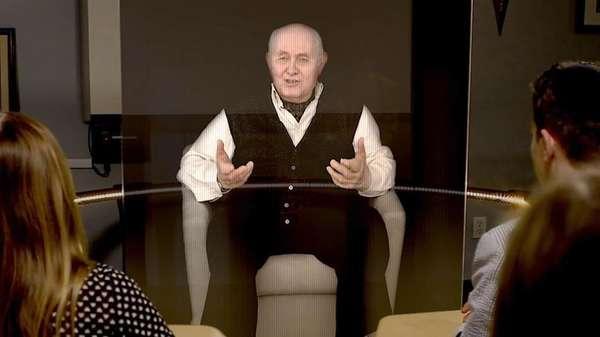 Holographic Holocaust Testimonies