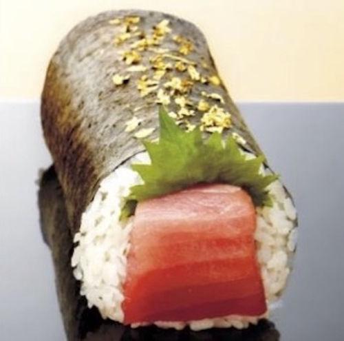 Gigantic Luxe Sushi Rolls