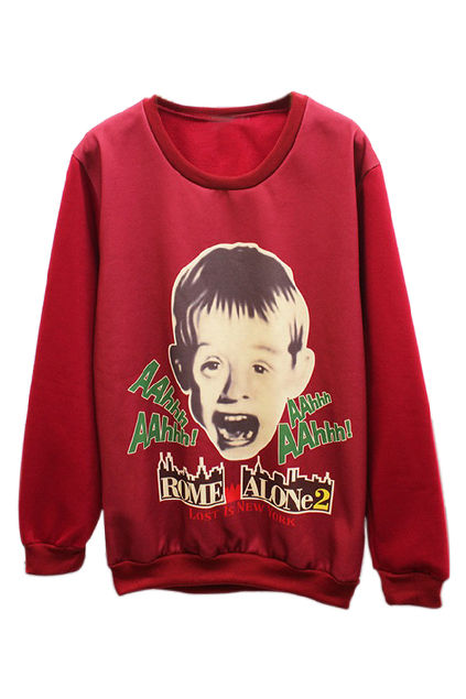Screaming Child Star Sweaters : Home Alone 2