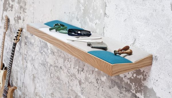 Practical Cushioned Shelves