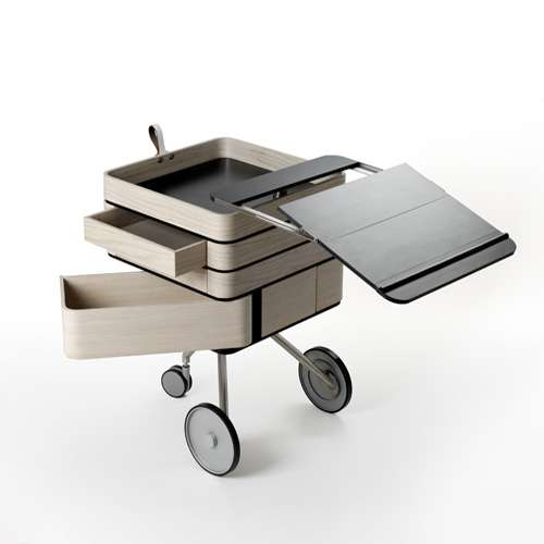 Mobile Desks On Wheels