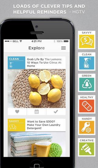 Handy Home Organization Apps