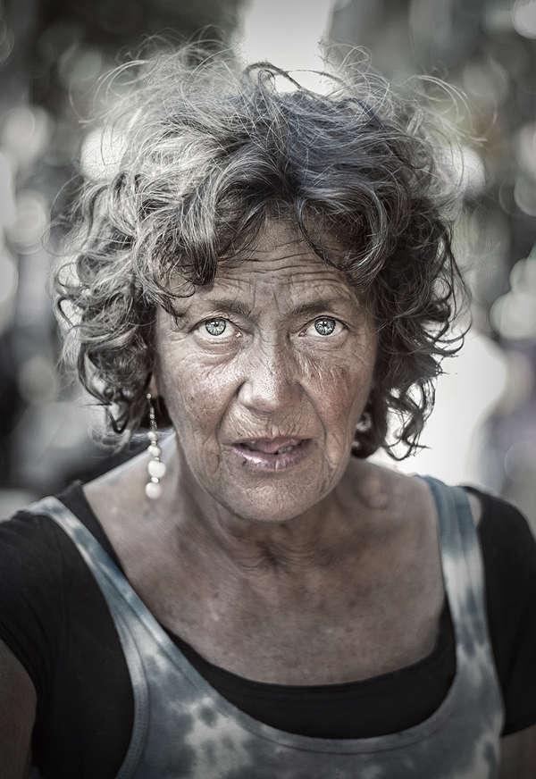 Candid Homeless Portraits