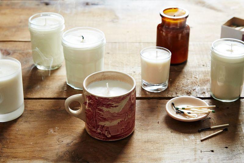 Improvisational Soy Candles