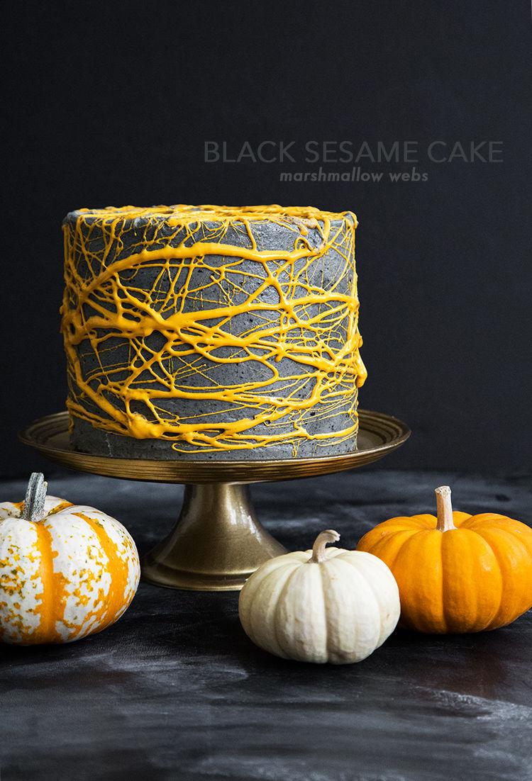 Festive Black Sesame Desserts