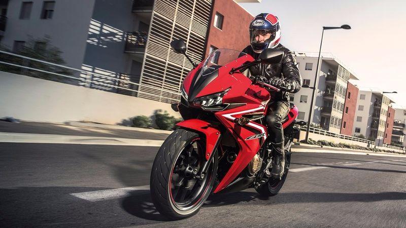 Edgy Aggressive Motorbikes