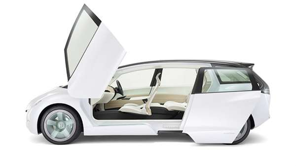 Minivans With Lambo Doors