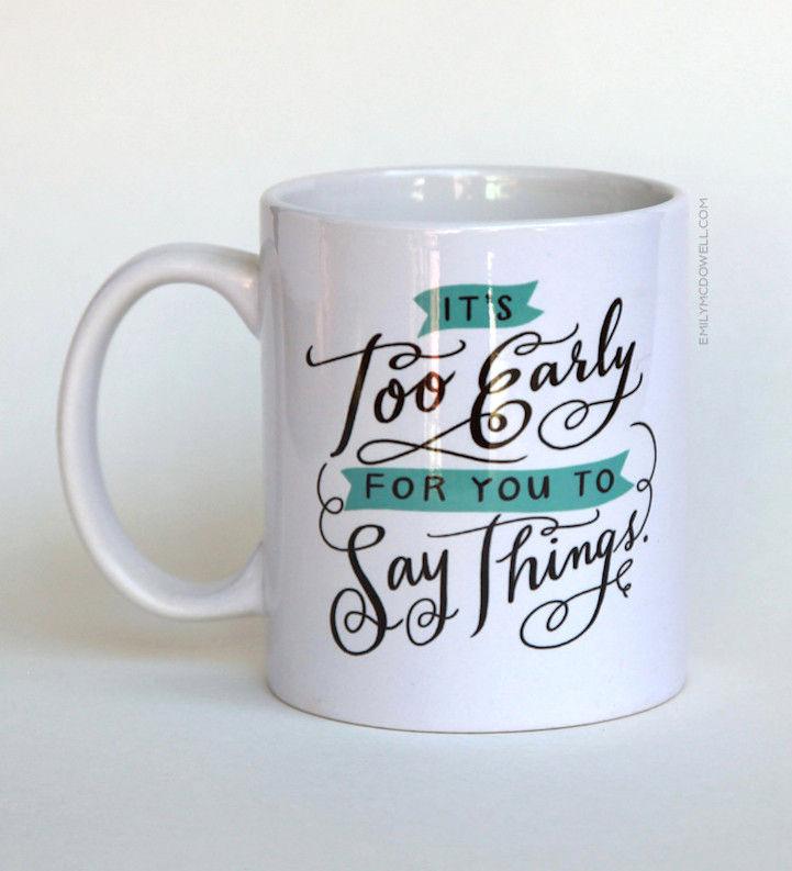 Hilariously Honest Mugs